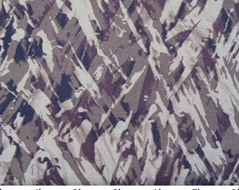 Taupe Brushstroke Print - Half Yard