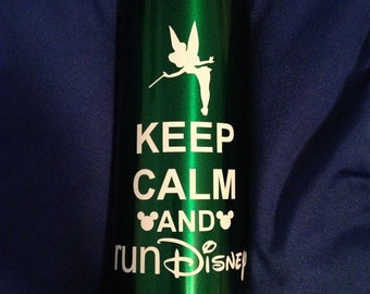 "Tinkerbell ""Keep Calm and Run Disney"""