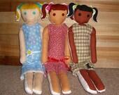 Handmade Cloth Rag Dolls