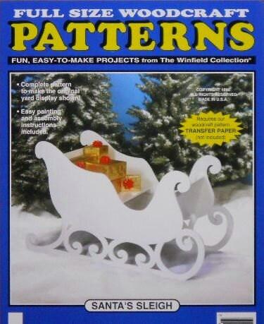 Free Large White Reindeer Wood Patterns