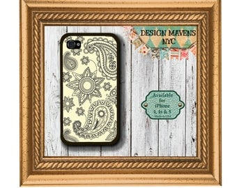 Paisley iPhone Case, Plastic iPhone Case, iPhone 4, iPhone 4s, iPhone 5, iPhone 5s, iPhone 5c, iPhone 6, Phone Case, Phone Cover