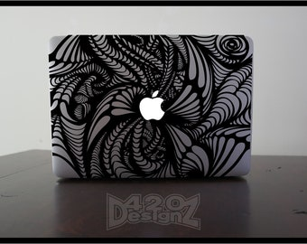 Pattern - Macbook Air, Macbook Pro,  Macbook decals, sticker Vinyl Mac decals Apple Mac Decal, Laptop, iPad