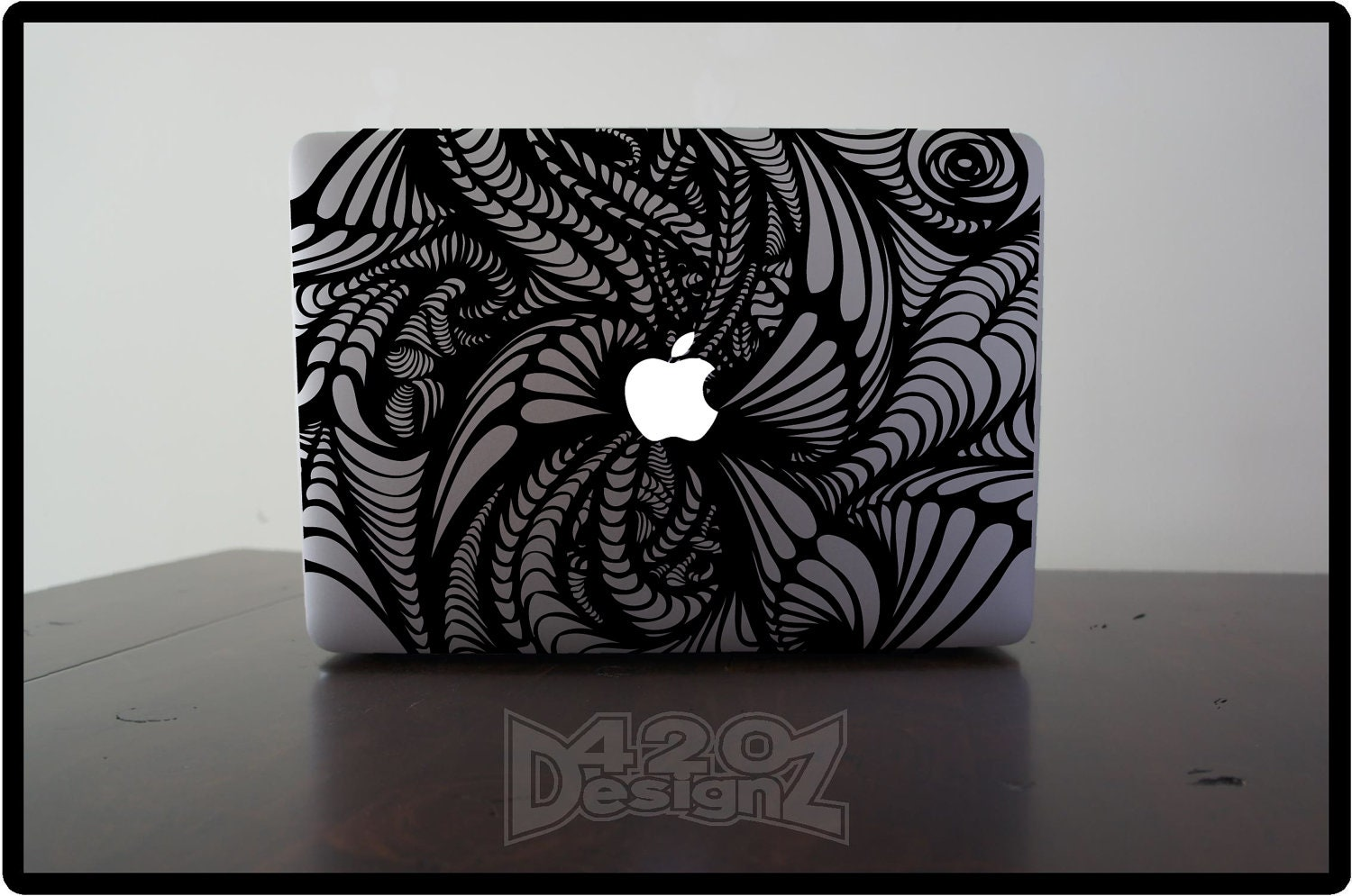 Pattern Macbook Air Macbook Pro Macbook Decals Sticker - Custom vinyl decals for macbook pro