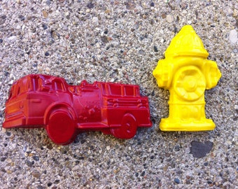 4 pk. Fire Truck and Fire Hydrant