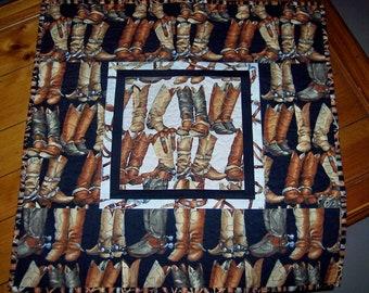 Cowboy Boot Quilt