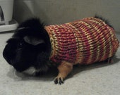 Hand Knit Guinea Pig Sweater
