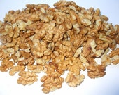 Organic Light Raw Walnuts Halves & Pieces -No Shell - 0.3 lbs-150grams