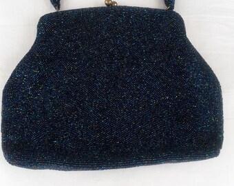 Vintage Saks Fifth Ave Beaded Evening Bag
