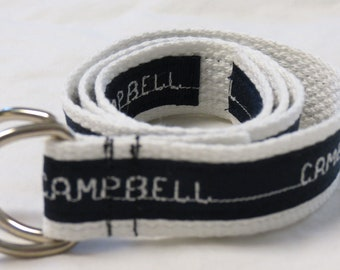 Child's personalized belt
