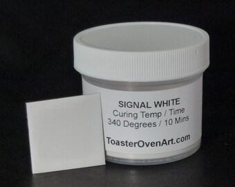 Signal White Powder Coating