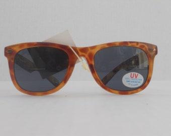 Linda Farrow Wayfarer Style Vintage Deadstock Sunglasses with Tags
