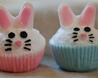 Spring Bunnies 1 Decorative Soaps