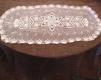 Table  Runner, Crocheat, handmade,