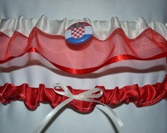 Flag - Croatia Garter