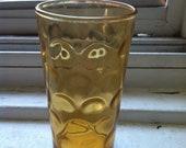 6 Vintage Mad-men style Cocktail glasses