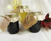 Wine Jelly Gift Set- Three 8 Ounce Jars of Gourmet Wine Jelly-Sauvignon Blanc, Merlot, Cabernet - Fruit of the Vine Jelly