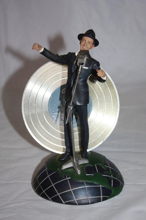 Franklin Mint Frank Sinatra Musical Figurine
