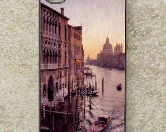 iPhone Cover(all models) - smartphone - mobile - Venice - Grand Canal - Italy - sunset - Galaxy S3, S3mini,S4,S4mini,S5,S6,HTC, LG & more