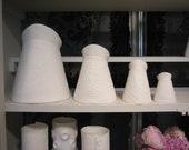 Floral Jug Medium-Porcelain jugs for milk or use as a vase
