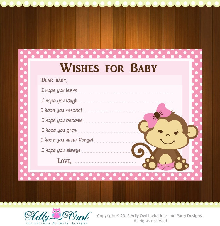 Monkey Girl Invitations for amazing invitations example