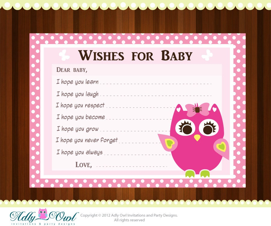 Ambitious image for baby shower card printable
