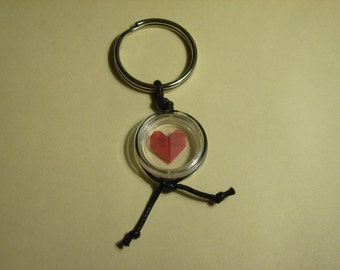 "Origami-keychains ""Heart"""