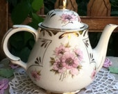 Arthur Wood Teapot Made in England Marked 5454