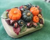 Polymer Clay Autumn Pumpkin Patch
