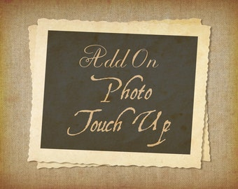Add-On Photo Touch Up