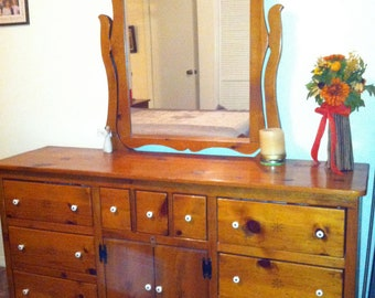 Sunrise Dresser & Mirror