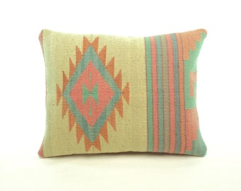 Zapotec Throw Pillows : Mirror Image Pair of Unique Zapotec Accent by PillowsandCushions