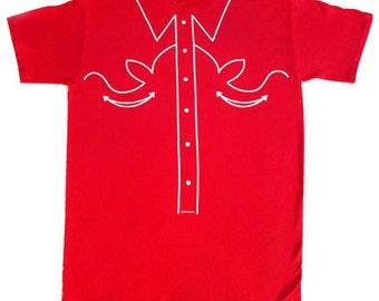 Cowboy T shirt , western T shirt