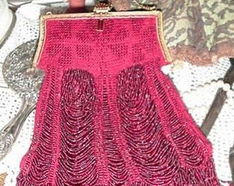 Delilah Beaded Bag Purse Pattern