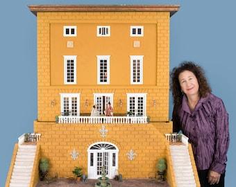 Le Chateau Bidaine - French architectural miniature