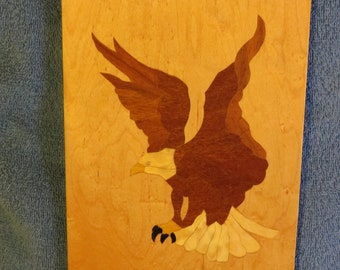 Eagle - Marquetry