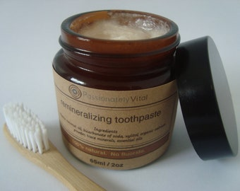 All-Natural Remineralizing Toothpaste