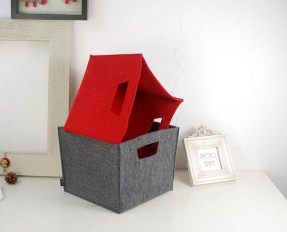 filz aufbewahrungstasche kiste kasten stoff k che von filzkraft. Black Bedroom Furniture Sets. Home Design Ideas