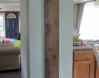 Oversized Wooden Ruler Growth Chart