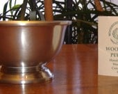 Pewter 5 Inch New Bowl with Certificate - Hostess, Wedding, Bridal Shower, New Home, Anniversay or Any Time Gift Idea