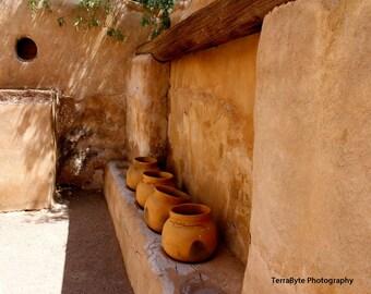 Fine Art Photography Home Decor Tumacacori Mission Pottery Arizona