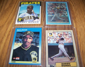 Barry Bonds rookie cards