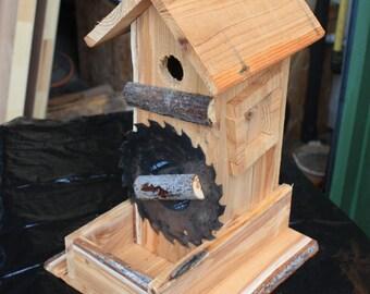 Decorative Cedar Birdhouse