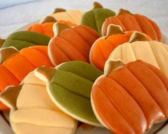 The Great Pumpkin Sugar Cookies (1 dozen)