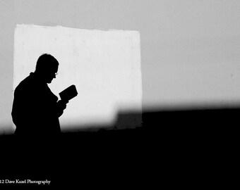 Reader - Chicago 2009 (4inx4in)