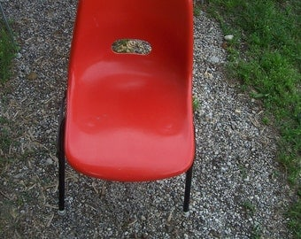Great fiberglass childs chair