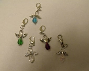 Angel Zipper Pulls