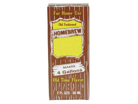 Old Fashioned Homebrew Cream Soda Pop Extract