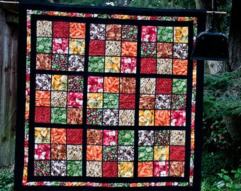 Sudoku lap quilt
