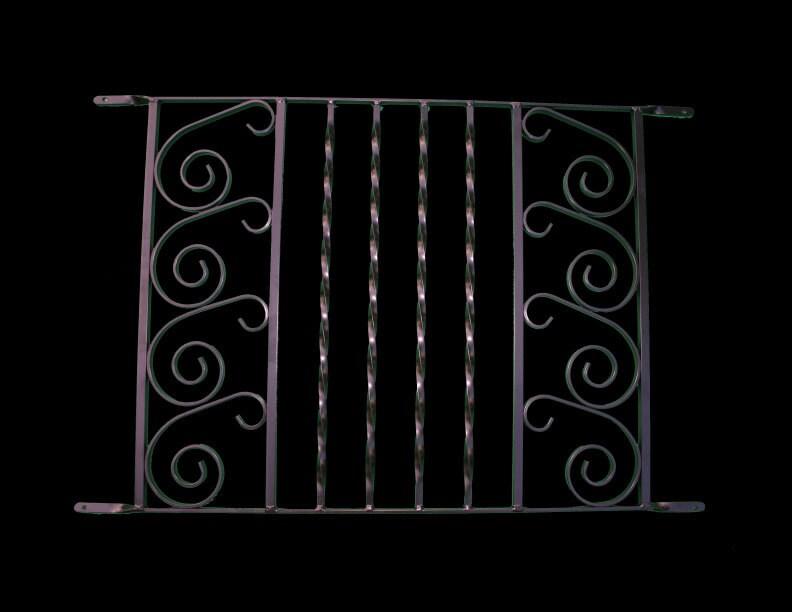 Screen Door Grille Protective Aluminum Decorative Sea Gate