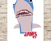 Back to the Future Jaws 19 Limited Edition Art Print